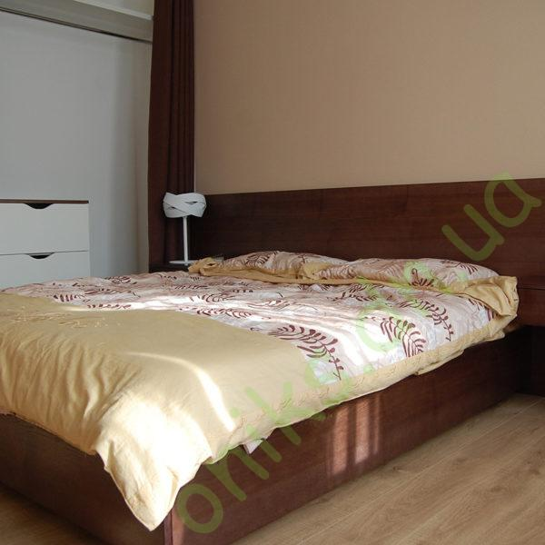 Кровать двуспальная с подвесными тумбами в Донецке