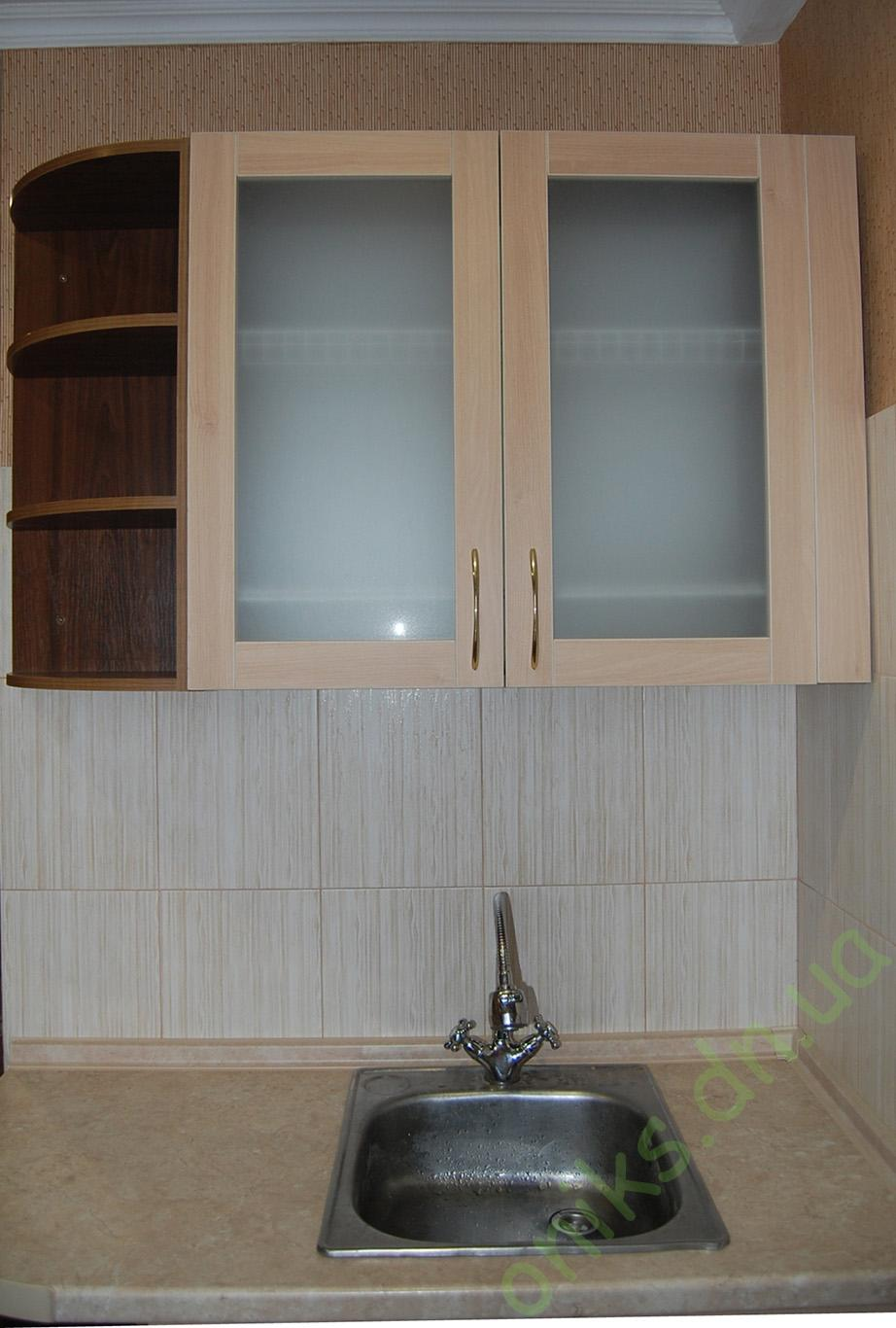 Купить кухонный модуль мойка с радиусными полками в Донецке