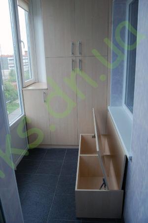 Шкаф встроенный на балкон донецк - oniks.