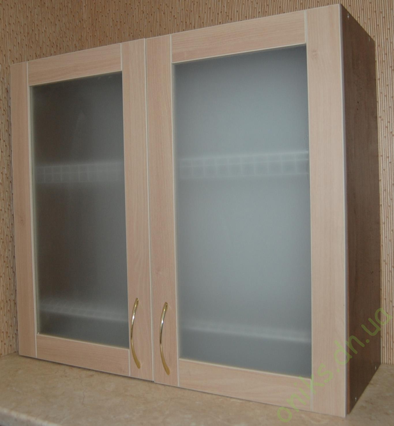 Купить верхний кухонный модуль витрина со встроенной сушкой в Донецке