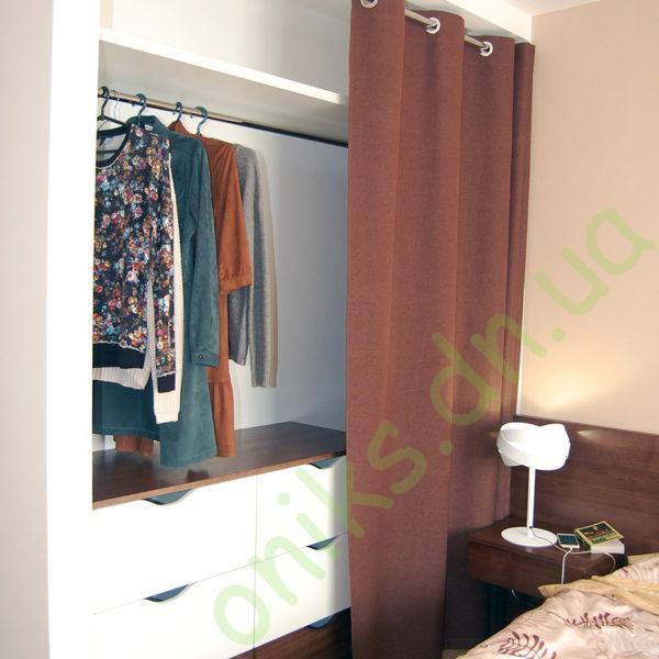 Купить гардеробную для спальной комнаты в Донецке