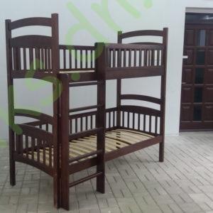 Кровать деревянная двухъярусная Донецк