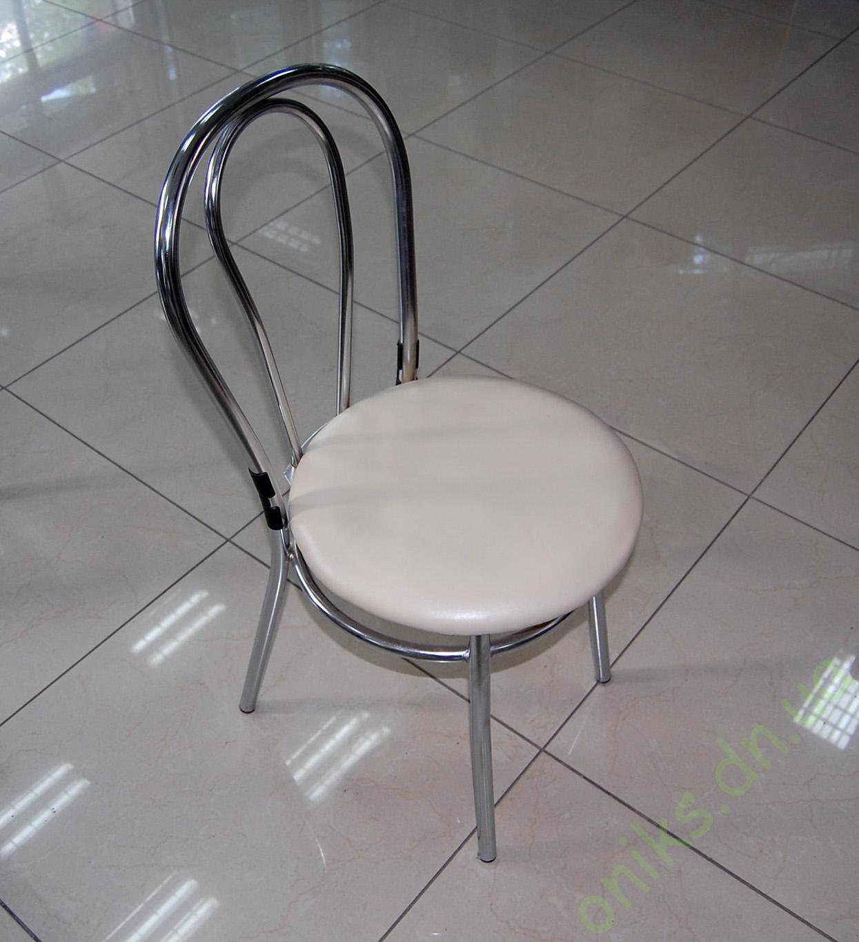 Стул металлический с мягким сиденьем в Донецке