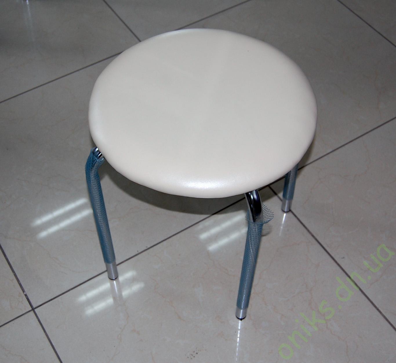 Табурет металлический с мягким сиденьем Донецк