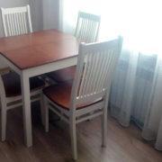 Купить деревянный стол и стулья в Донецке
