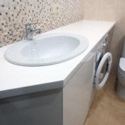 Купить тумбу для ванной комнаты с врезной мойкой в Донецке