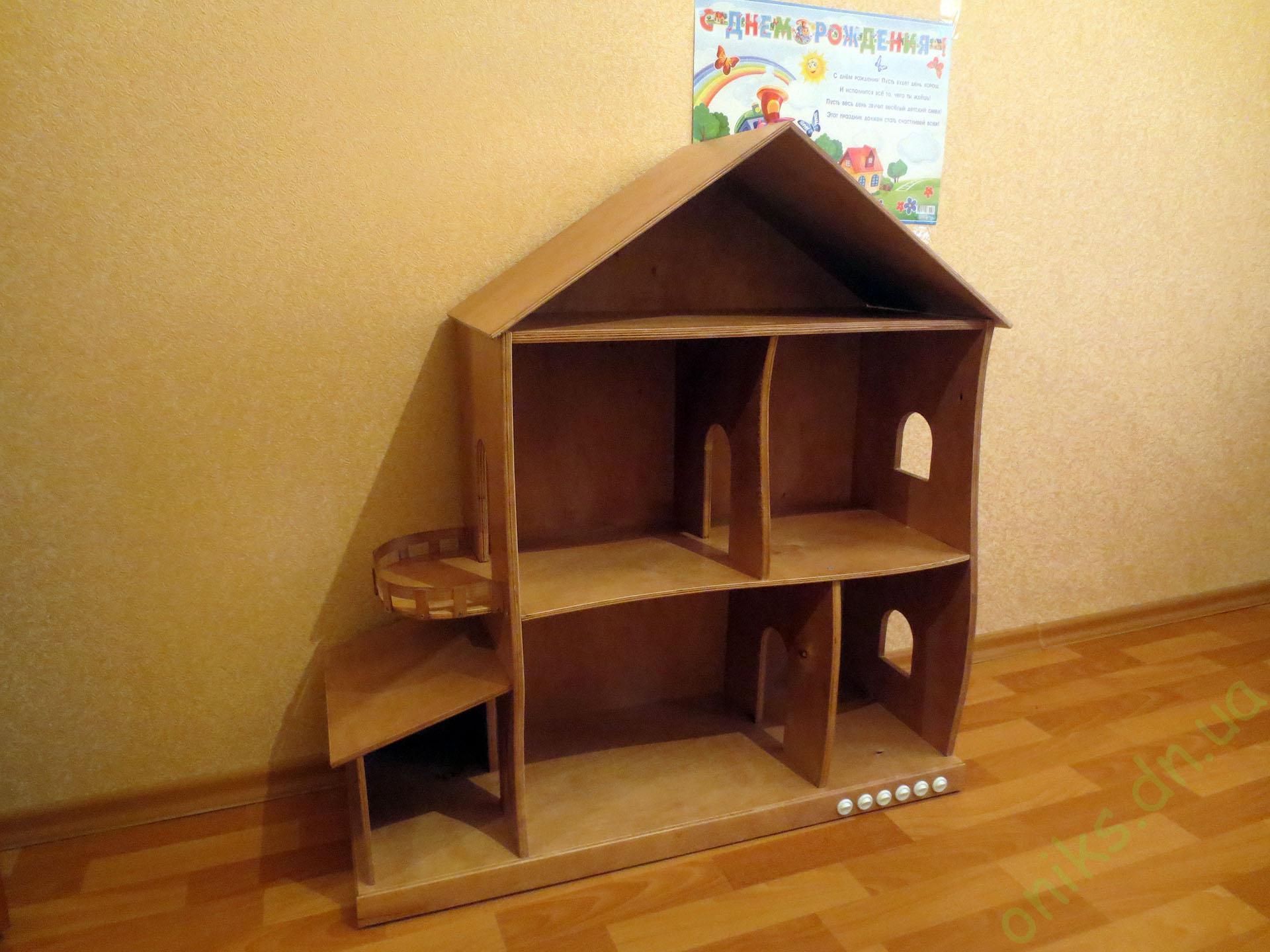 Заказать деревянной домик для кукол в Донецке