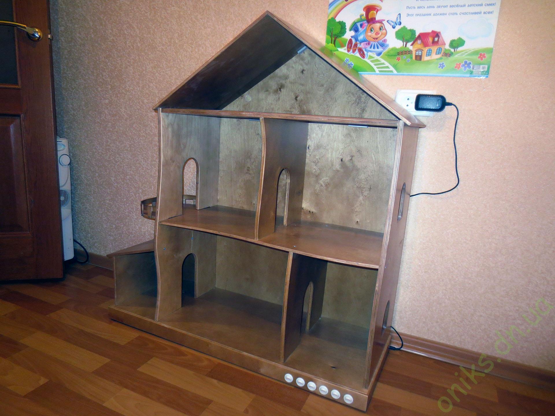 Купить деревянной домик для кукол Донецк
