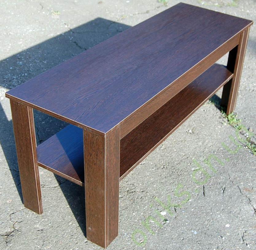 Купить журнальный стол с полкой в Донецке