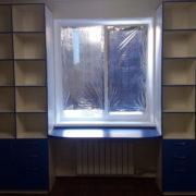 Купить шкаф-стеллаж со столом в Донецке