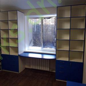 Шкаф-стеллаж со столом Донецк