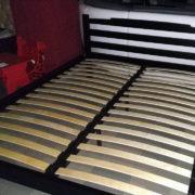 Деревянная двуспальная кровать ЭКО + Донецк