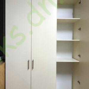 Купить распашной встроенный шкаф на балкон в Донецке
