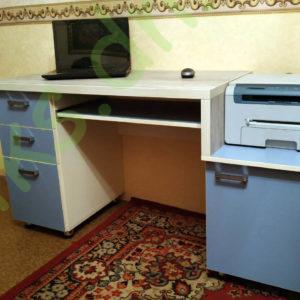 Купить двухуровневый компьютерный стол КС-01/2 в Донецке