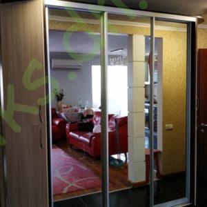 Купить шкаф-купе с угловым окончанием в Донецке