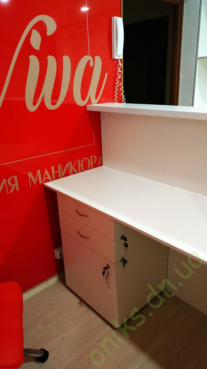 Купить стойку администратора - рецепцию в Донецке