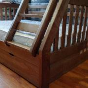 Купить кровать деревянную двухъярусную КД-01 в Донецке