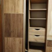 Купить шкаф-купе крафт комби в Донецке