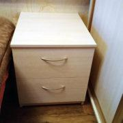 Купить прикроватную тумбочку с 2-мя ящиками в Донецке