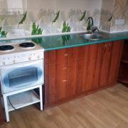Купить прямую кухню орех в Донецке