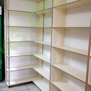 Купить шкаф - стеллаж угловой пристенный в Донецке