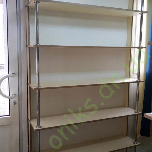 Купить шкаф - стеллаж открытый пристенный в Донецке