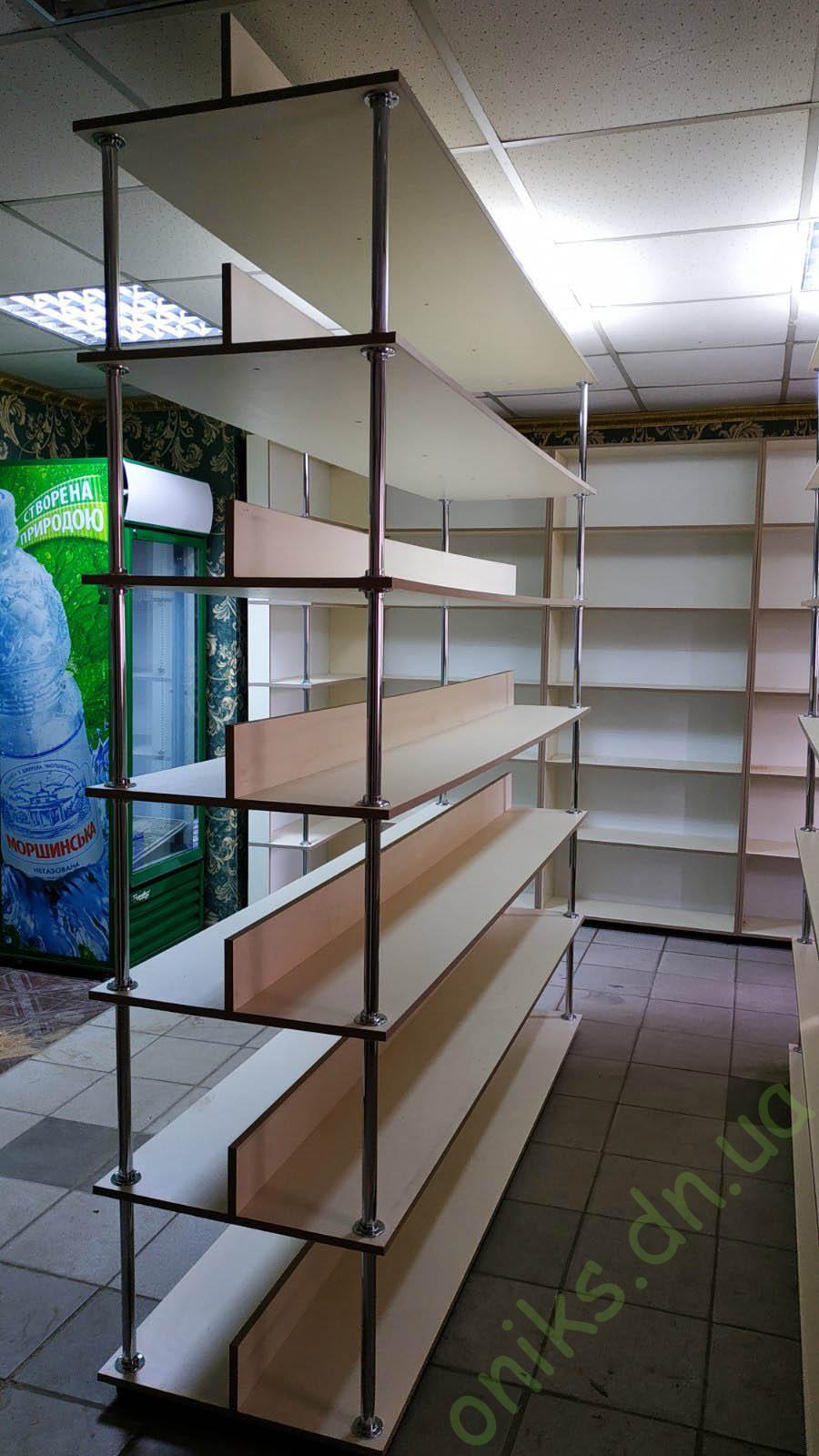 Купить шкаф - стеллаж открытый в Донецке