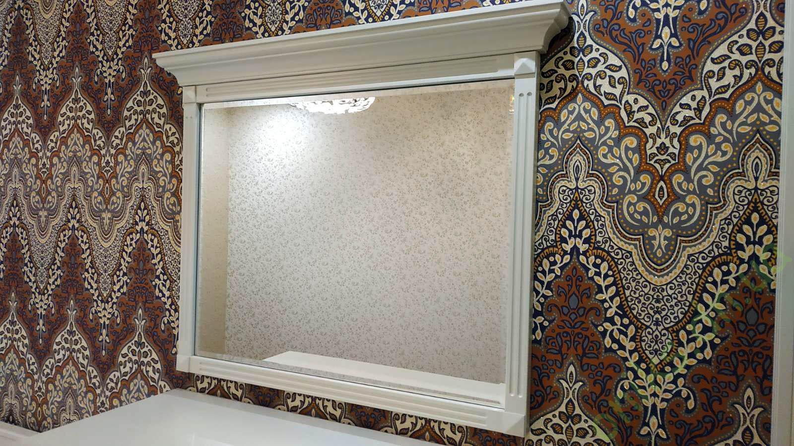 """Купить зеркало в декоративной рамке """"Прованс"""" в Донецке"""