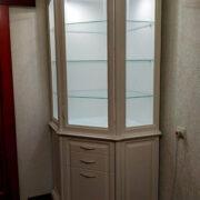 Купить витрину угловую в Донецке