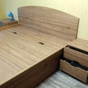 """Купить кровать двуспальную """"Екатерина"""" с прикроватными тумбами в Донецке"""