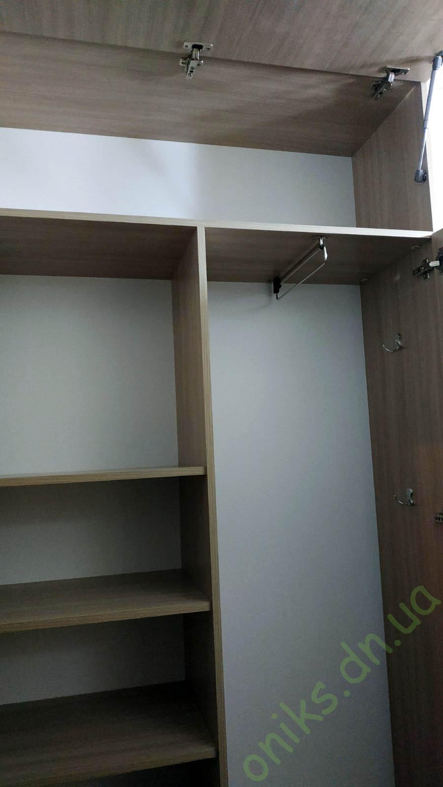 Купить шкаф для прихожей двухдверный с антресолью в Донецке