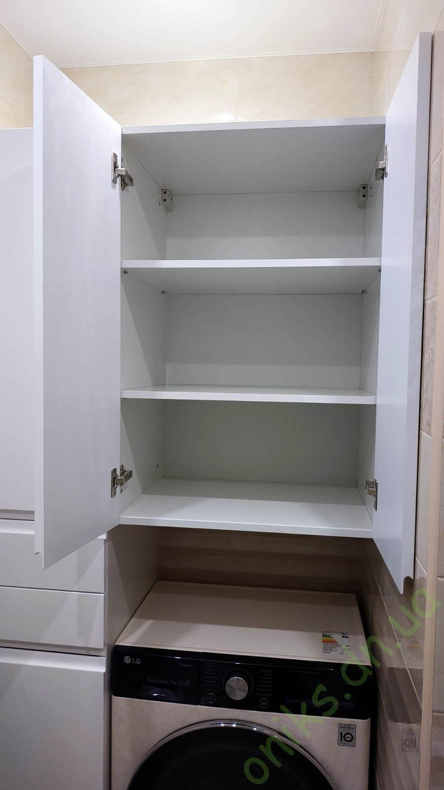 Купить шкаф в ванную комнату с нишей под стиральную машину в Донецке
