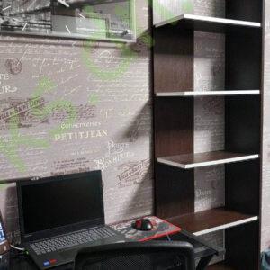 Купить книжную напольную полку многоуровневую в Донецке