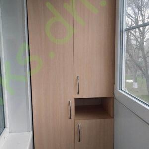Купить встроенный шкаф на балкон в Донецке