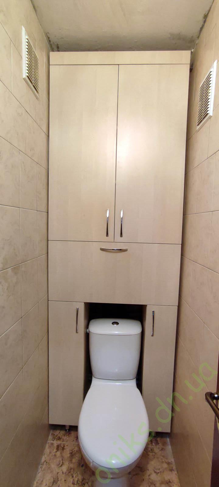 Купить шкаф в с/у встроенный в Донецке
