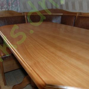 Стол обеденный из натурального дерева, вскрытый лаком Донецк