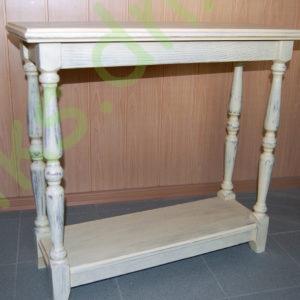 Столик деревянный консольный в Донецке