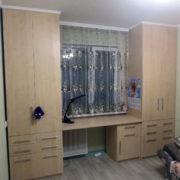 Купить распашной шкаф со столом в Донецке