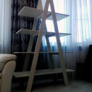 Купить открытый деревянный стеллаж в Донецке