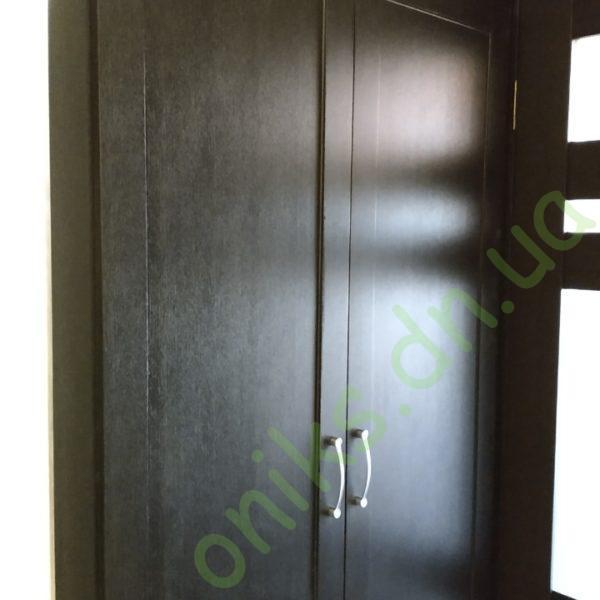 Купить встроенный распашной шкаф с антресолью в Донецке
