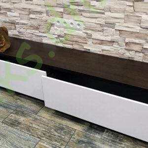Купить тумбу ТВ с двумя выдвижными ящиками в Донецке